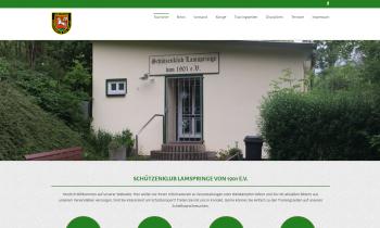 Homepage des SK-Lamspringe in neuem Gewand